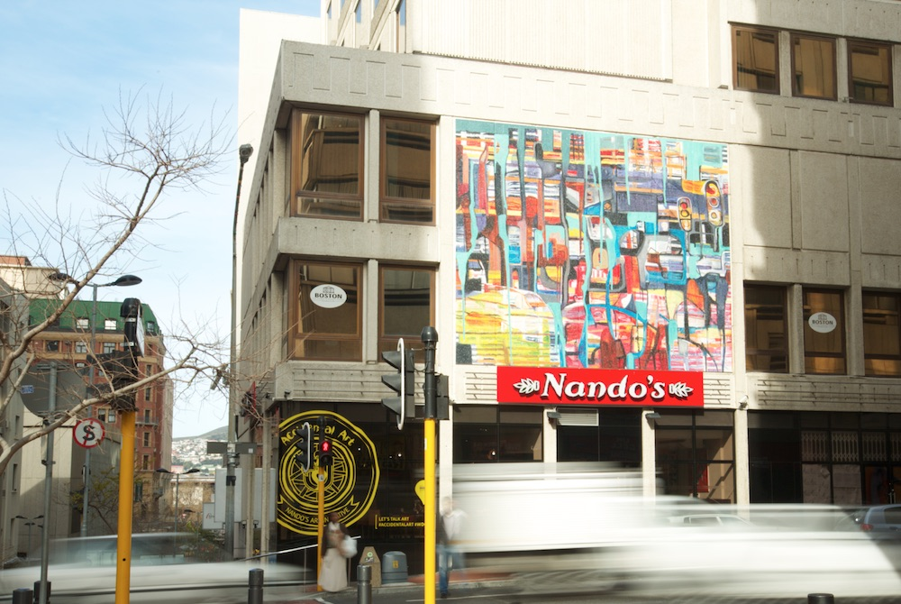 Nandos Art Initiative Profiles Signage And News Stories Lee